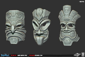 Firefall - Tiki Masks! :) by Pogimonz