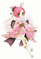 :C: Kimono girl by tho-be