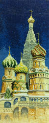 Cathedral - cross stitch by tho-be