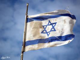 Israel Flag by mayoran