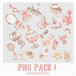 Png Pack #1 by ukari by U-kari