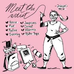 Meet the artist, Anouk by anoukbd