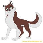 Balto Character: Justin by DarthGoldstar710