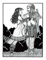 Orpheus and Eurydice by plt25