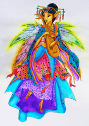 Chinese Fairy by KaeMcSpadden