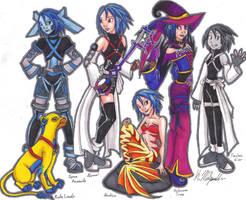 Aqua's World Forms by KaeMcSpadden