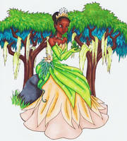 The Princess and the Frog by KaeMcSpadden