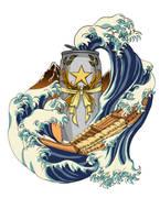 Sapporo-Hokusai's Legendary Brew by KaeMcSpadden