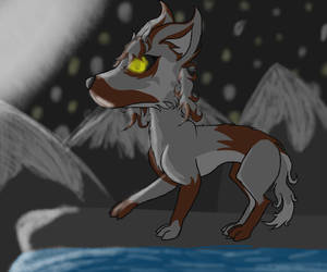 Wolf's Night by AshFox8091