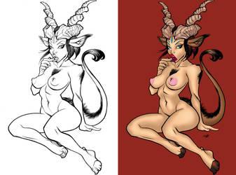 Devilgirl by demonase