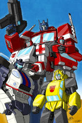 The Autobots by VaderPrime1