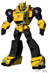 'TF: Victory' Bumblebee Colors by VaderPrime1