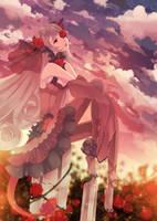 Twilight Roses by sheryu