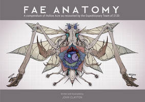 Fae Anatomy book cover by skellington1
