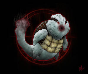 Silent Pocket Monsters: 007 Squirtle by skellington1