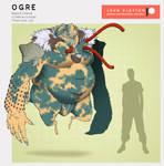 Fae Anatomy: Ogre by skellington1
