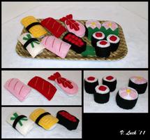 Sushi Set by beanchan