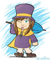 Hat Kid by DiRosso