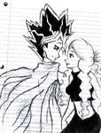 Atem and Amunet by AlicetheIcePrincess