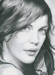 graphite - Liv Tyler by MAUZIS