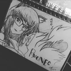 Studious Ahri by Ryonee