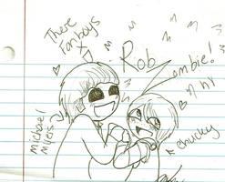 Rob Zombie fan boys by That-Love-Voodoo