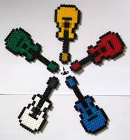 Guitares by Lywen64