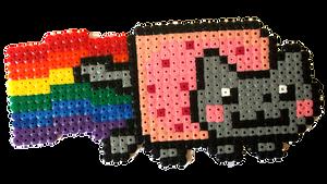 Nyan Cat by Lywen64