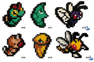 Pokedex Kanto : Caterpie to Beedrill by Lywen64
