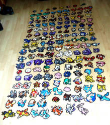 Pokemon Kanto : Completed by Lywen64