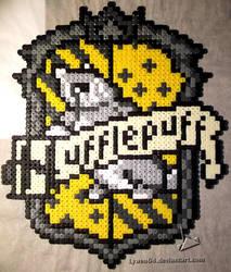 Blason Poufsouffle by Lywen64