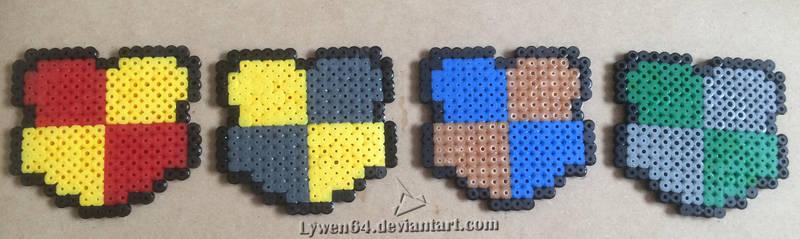 Mini blasons Poudlard by Lywen64