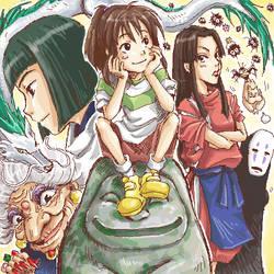 old stuff: spirited away by aki-akiko