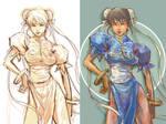 chun li color practice by aki-akiko