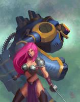 Mechwarrior by androsm