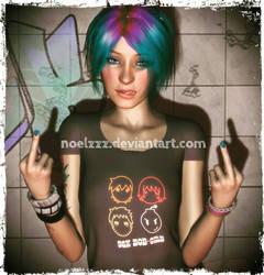 She's A Rebel by noelzzz