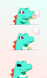 Totodile by LtNom