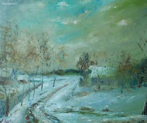 Alexander Jose, Winter Haze by Joseartgallery