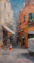 Vitaliy Petrovskiy, Ponte-Isquia. Italy by Joseartgallery