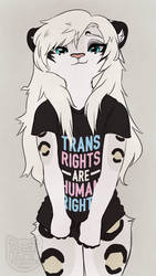 Trans Rights are Human Rights by e-Pon