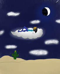 Cloud 9 on A Dreamy Night by JelloMcHello