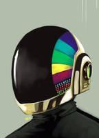 dp helmet :guy manuel by warnia