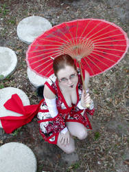 Kimono Cutie by SickStarr
