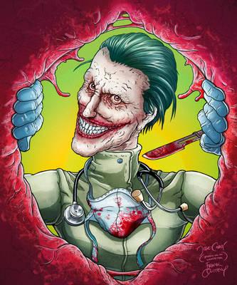 Joker Quitely by VdVector