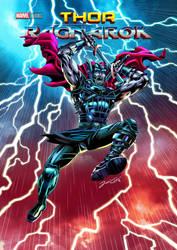 Thor Ragnarok  final by VdVector