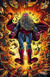 SUPERMAN  GODS END by VdVector