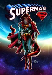 OLDMAN SUPERMAN by VdVector