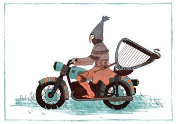 The Riding Knight by EuropeanOsaka