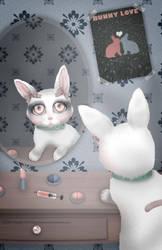 Bunny Testing by KittyCarousel