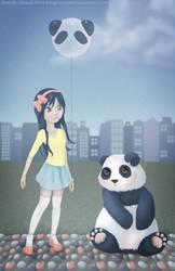 Yasuko Panda by KittyCarousel